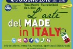 A Falconara L'Arte del Made in Italy – 4 e 5 giugno 2016
