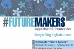 FUTUREMAKERS: lo Storytelling. Giovedì 6 ottobre a Montemarciano